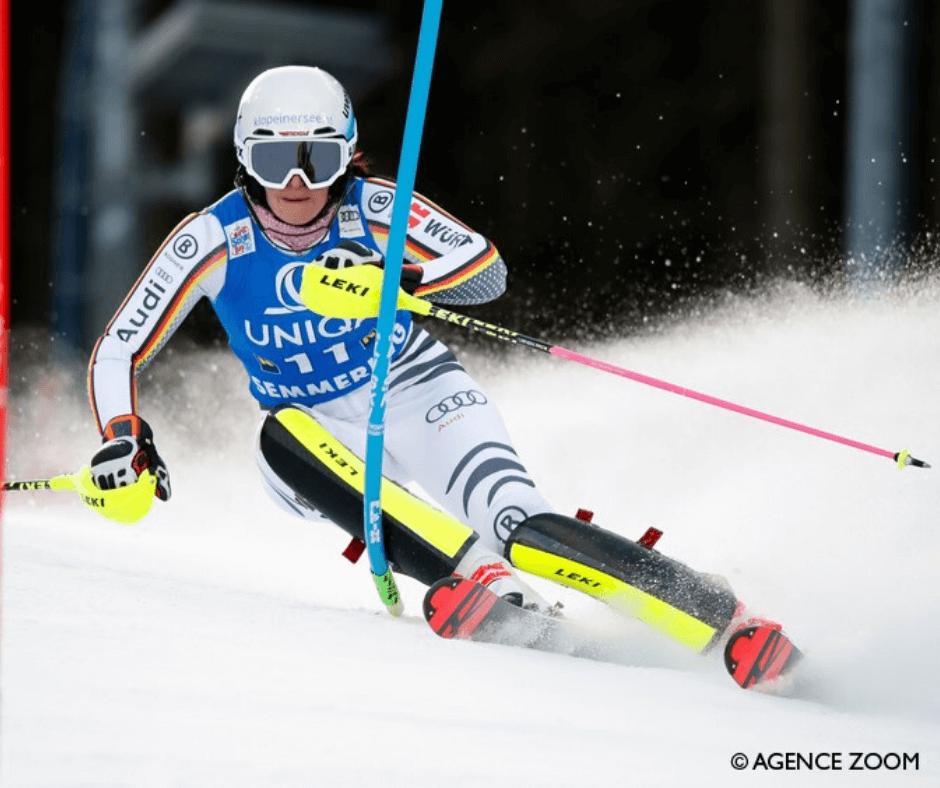 Multi Kolagén™, šľachy, lyžiarka Christina Ackermann